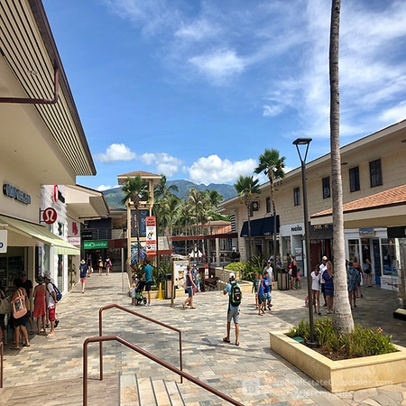 Whalers Village in Kaanapali