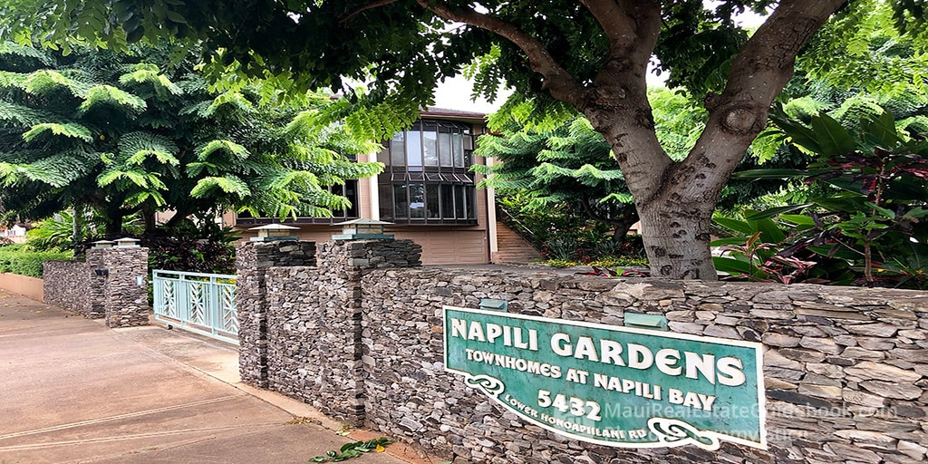 Napili Gardens Condos for Sale